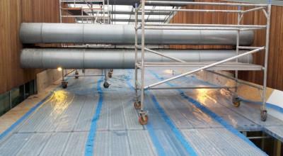 walk through scaffolding